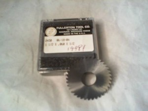FULLERTON 2450 MILLING SAW BLADE NEW IN BOX