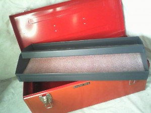 """STACK ON TOOL BOX RED 20"""" X 9"""" X 8-1/2"""""""
