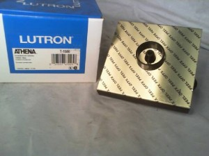 Lutron T-1500 Incandescent Rotary Dimmer - New in Box