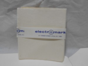 ELECTROMARK 2500 WIPES NEW IN BOX