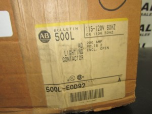 ALLEN BRADLEY 500LEOD92 New in Box