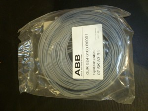 ABB GJR5240100R000107SK83R1 CABLE NEW IN BOX