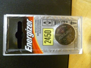 Energizer CR2450 Battery  NEW IN BOX