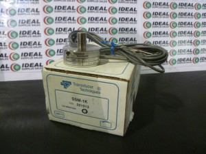 TRANSDUCER TECHNIQUES SSM1K LOAD CELL SENSOR NEW IN BOX