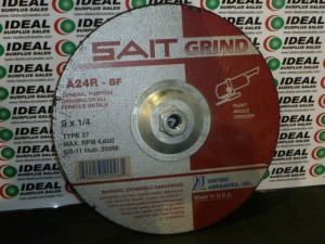 UNITED ABRASIVES A24RBF HUB NEW