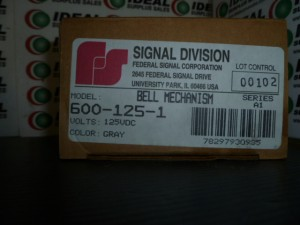 FEDERAL SIGNAL CORPORATION 6001251 NEW IN BOX