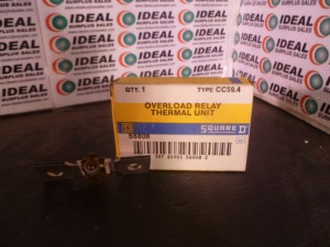 SQUARE D CC594 OVERLOAD RELAY NEW IN BOX