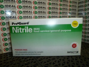 NITRILE 8644 GLOVES NEW IN BOX