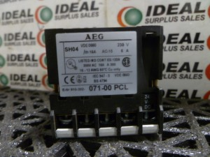 AEG 07100PCL RELAY USED