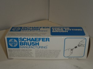 SCHAEFER BRUSH 009341 NEW IN BOX