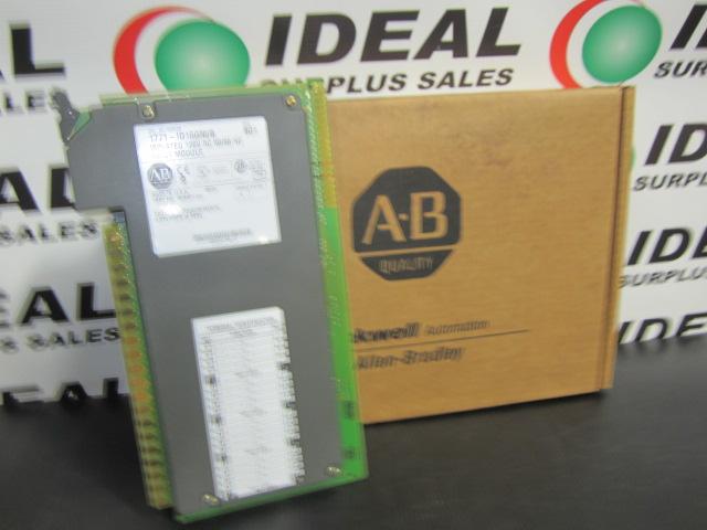 ALLEN BRADLEY 1771-ID16GM/B INPUT MODULE New in Box