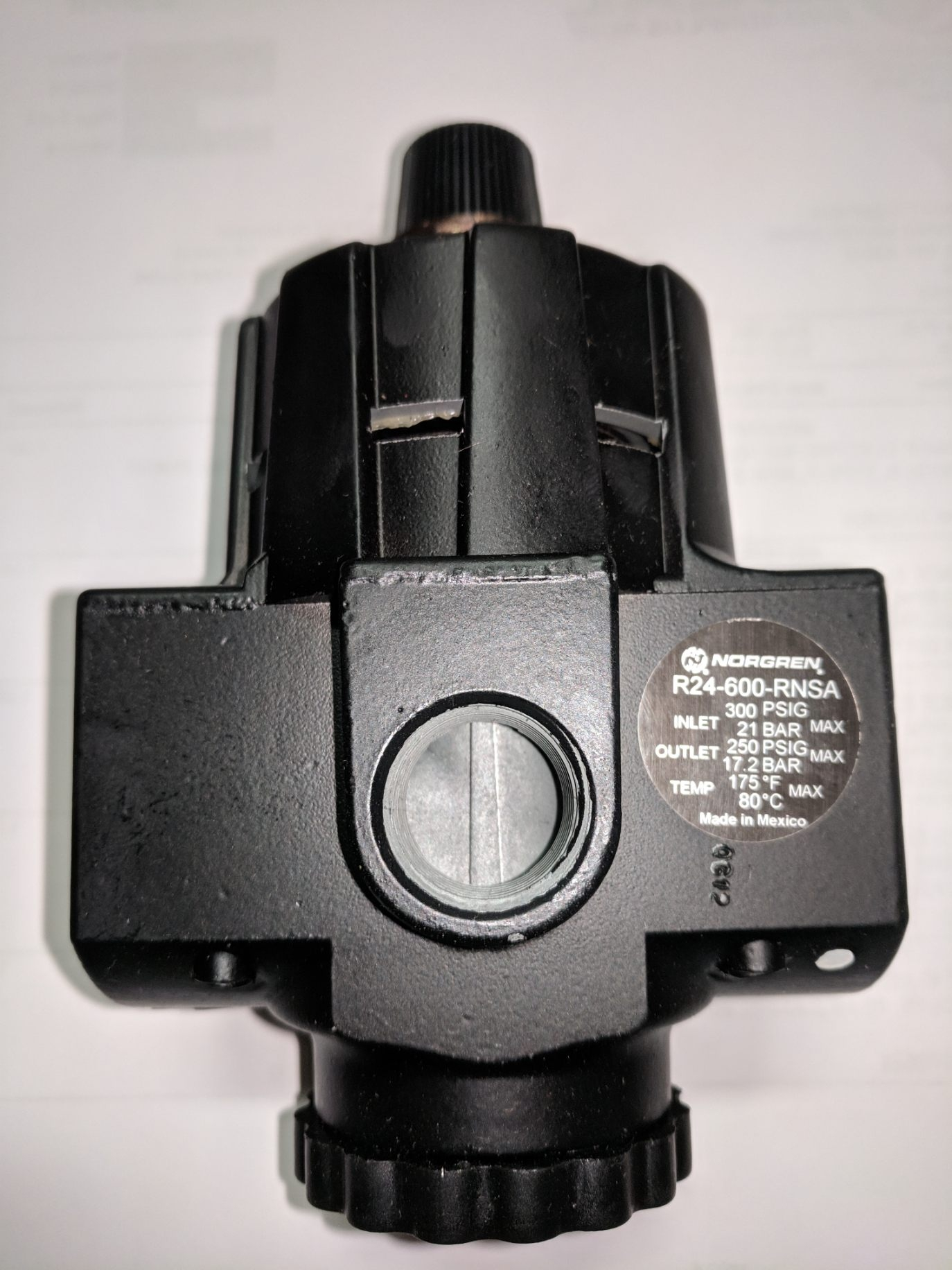 Norgren high pressure regulator ik multimedia irig nano amp