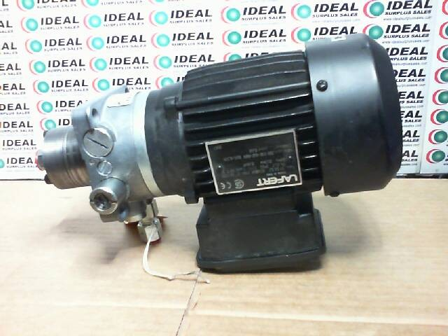 LAFERT ST-56S2 MOTOR AND PUMP Used