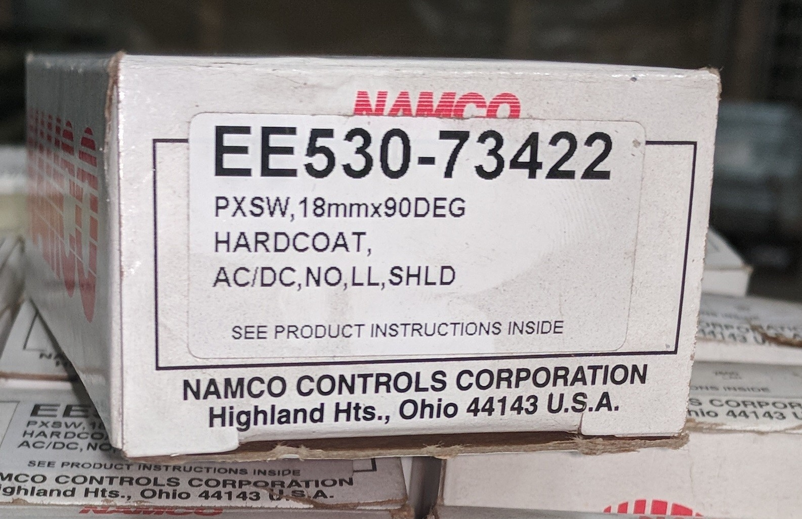Namco Ee53073422 Ideal Surplus Proximity Switches Ac Dc See Other Products New In Box Ee530 73422 Switch