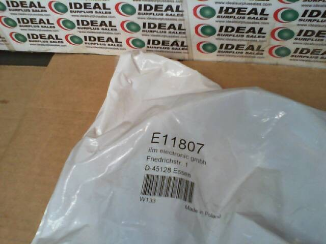 Ifm E11807 New In Box