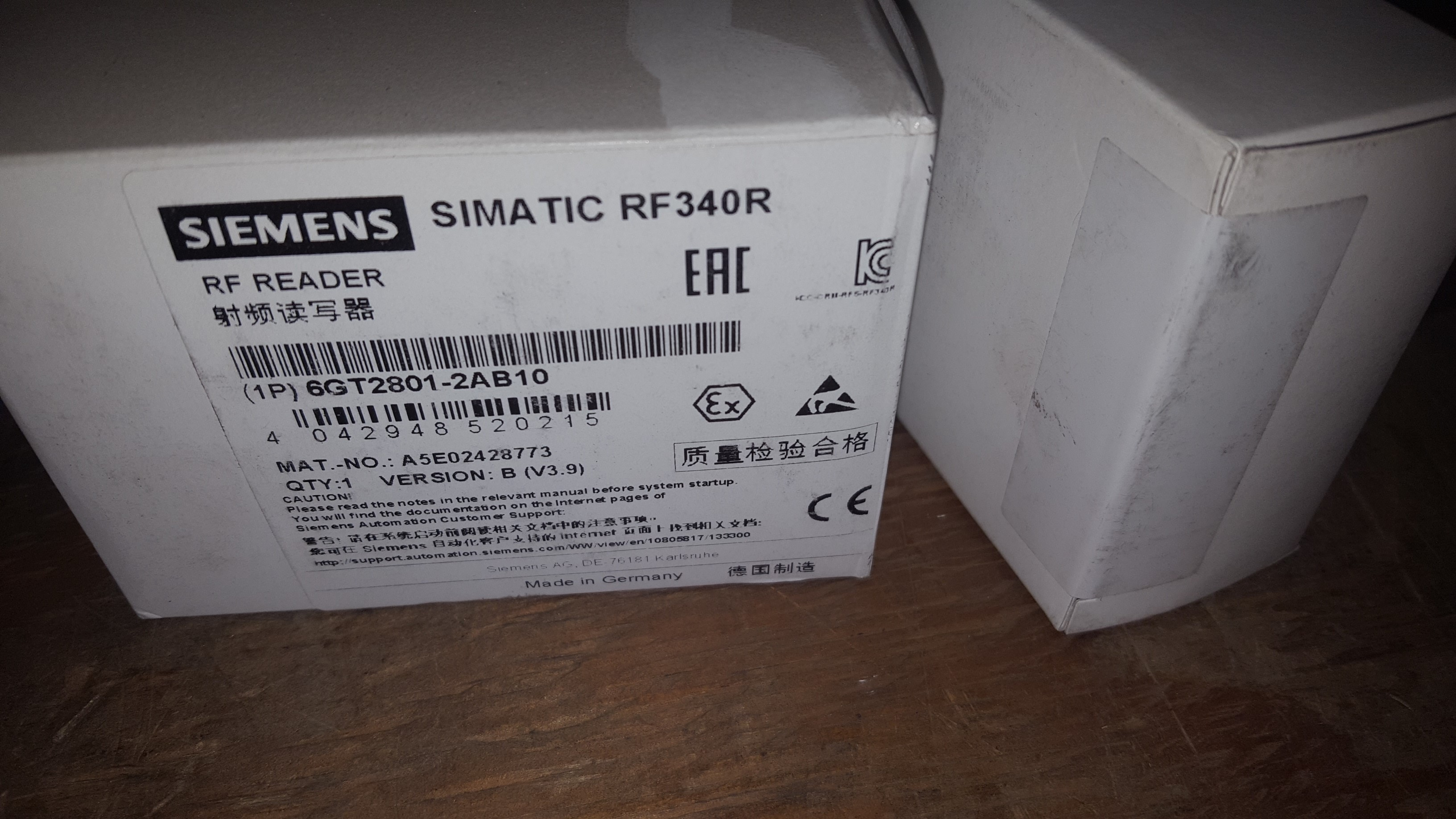 Siemens 6GT28012AB10 In Factory Sealed Packaging