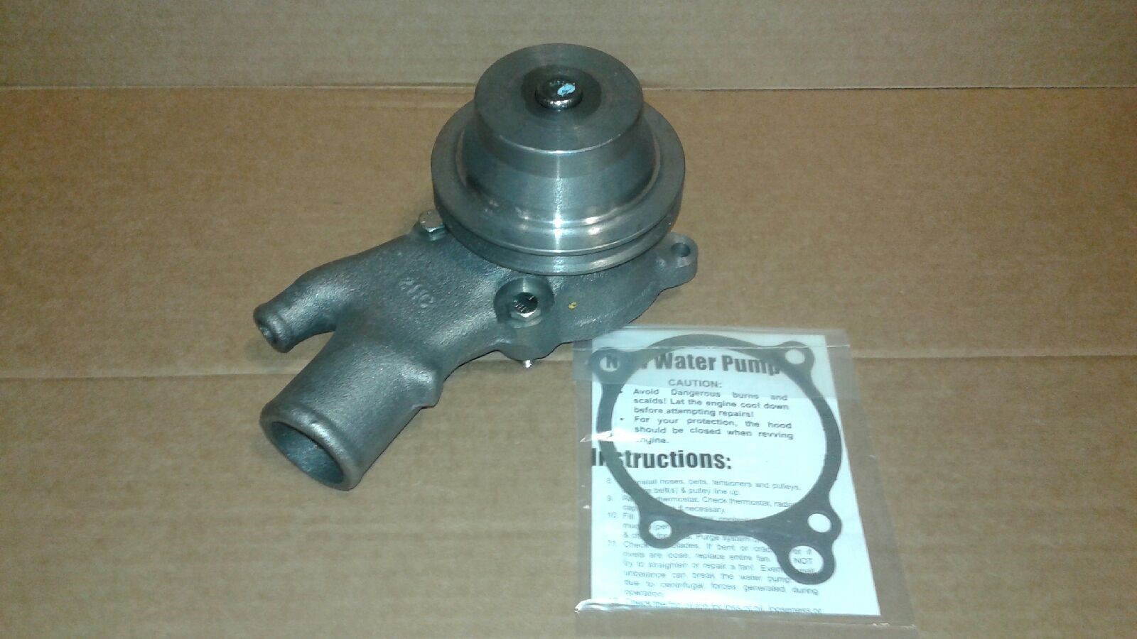 NEW WATER PUMP FITS HYSTER FORK LIFT S50XM S55XM GM 7000533 1383997 A0000-03015