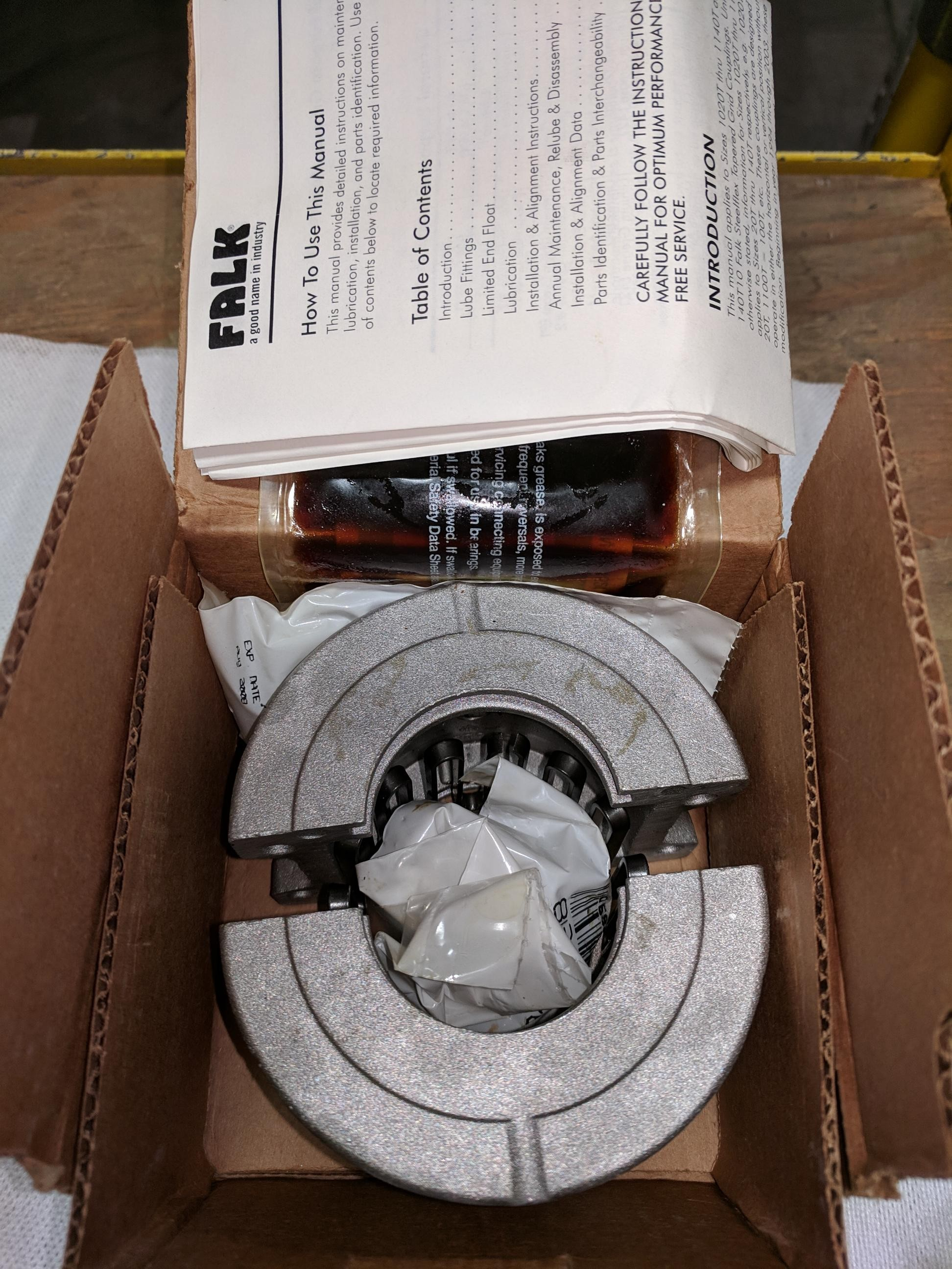 Falk 1030T10 Steelflex Cover-Grid Assembly New in Box