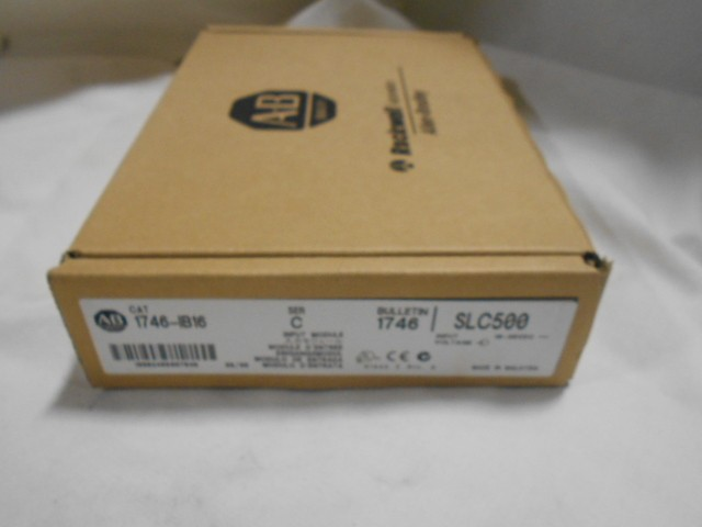 Allen Bradley 1746-IB16 New In Box