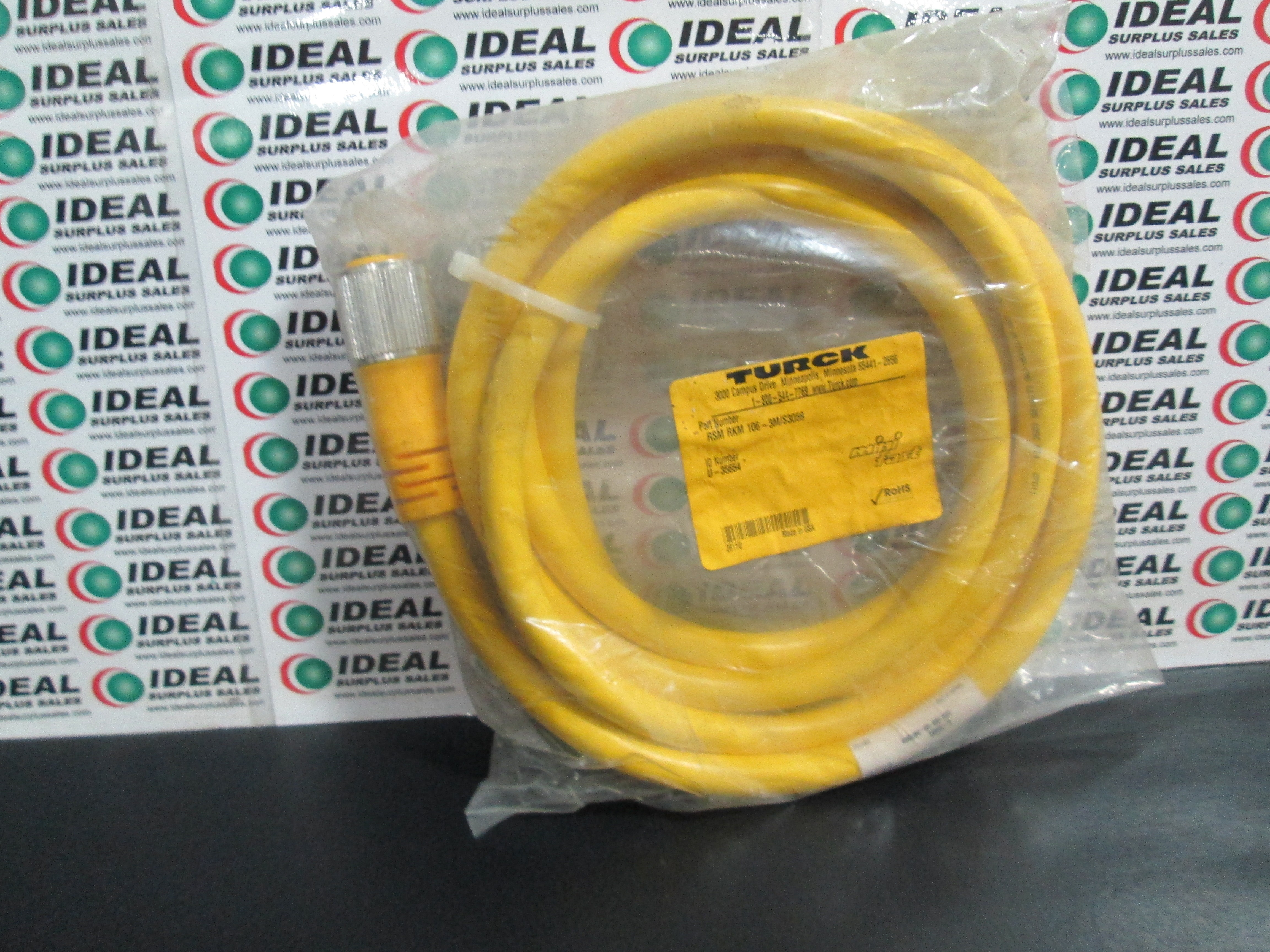TURCK RSMRKM1063MS3059 CABLE NEW IN BOX