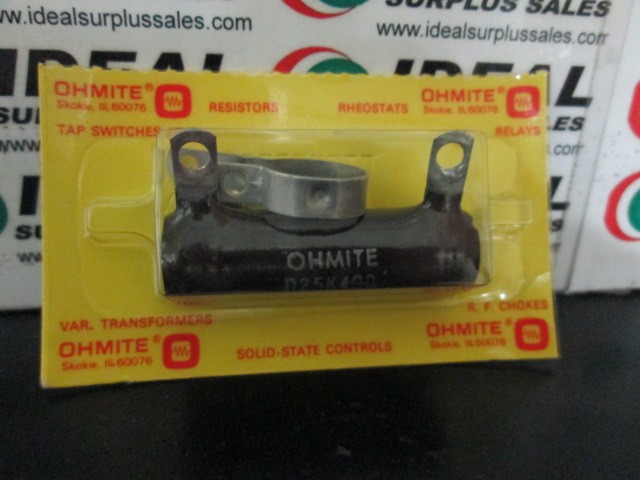 Ohmite D25K400 New In Box