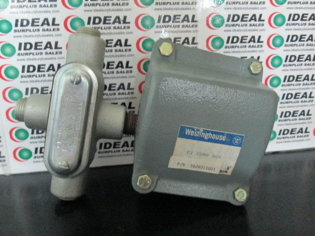 Westinghouse CI COND BOX New In Box