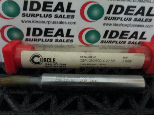 CIRCLE MACHINE CSPI2505001225R BORING BAR NEW IN BOX