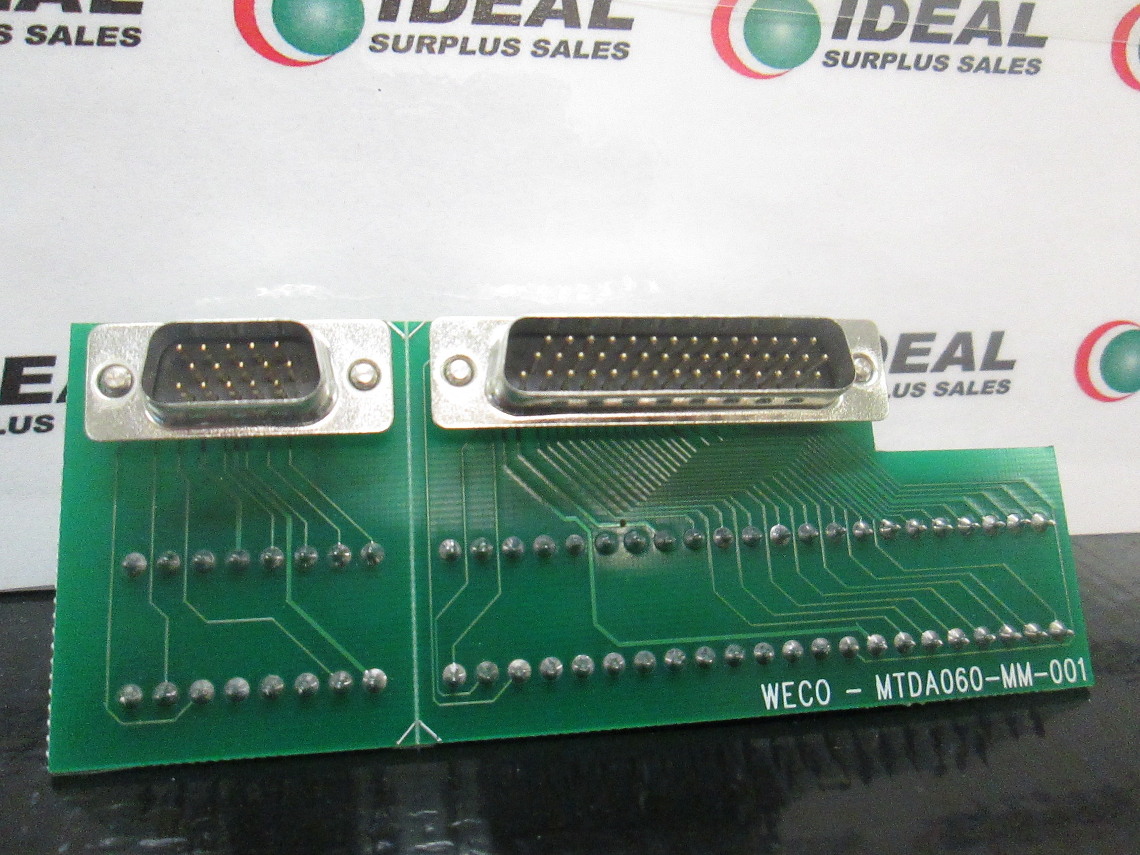Weco Mtda060 Mm 001 Module Ideal Surplus Electrical Products See Other