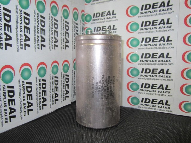 MEPCO 230000UF10 CAP | Ideal Surplus