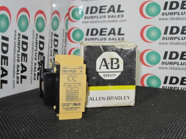 Allen Bradley 195FA20 New In Box