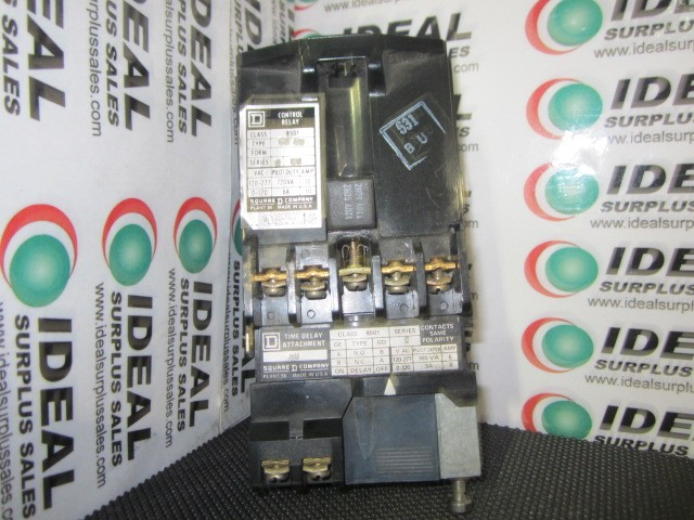 Square D 8501GO40 Used