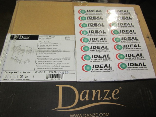 Danze DC023230WH New In Box
