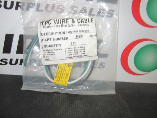 TPC WIRE & CABLE 84300 WIRE | Ideal Surplus