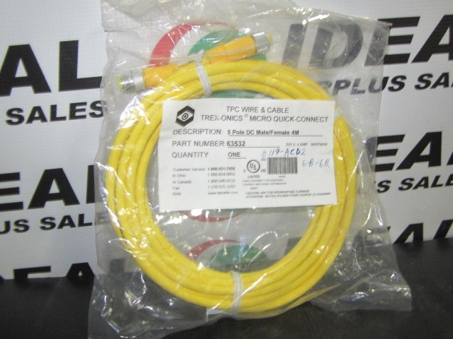 TPC WIRE & CABLE 63532 CABLE | Ideal Surplus