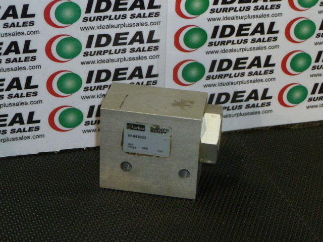 Parker Hannifin N1643003 Used