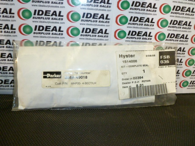 Parker Hannifin 3549149018 New In Box