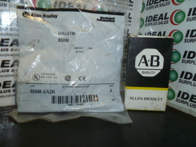 Allen Bradley 800MXA2K New In Box