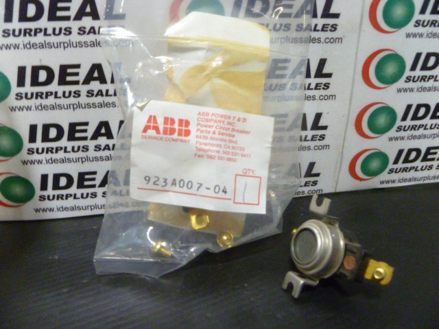 Abb 923A00704 New In Box