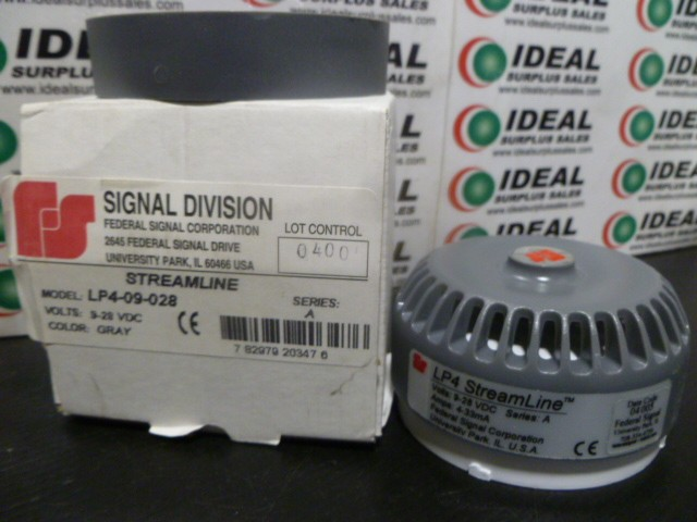 Signal Division LP409028 New In Box