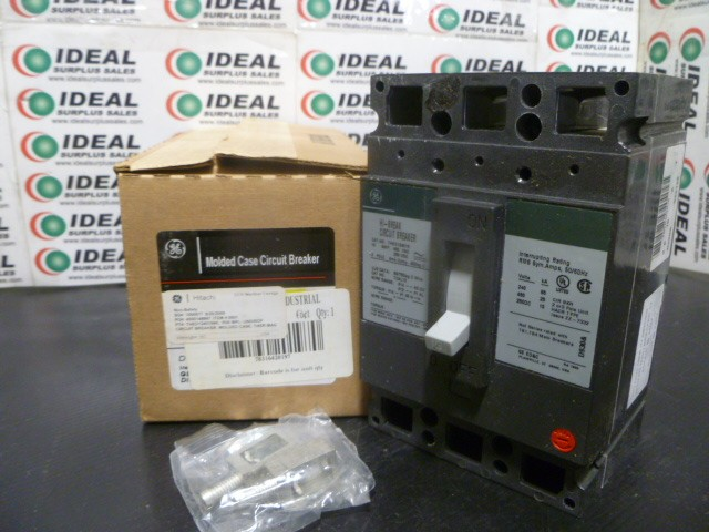 GENERAL ELECTRIC THED124015 15AMP MOLDED CASE CIRCUIT BREAKER NEW IN BOX