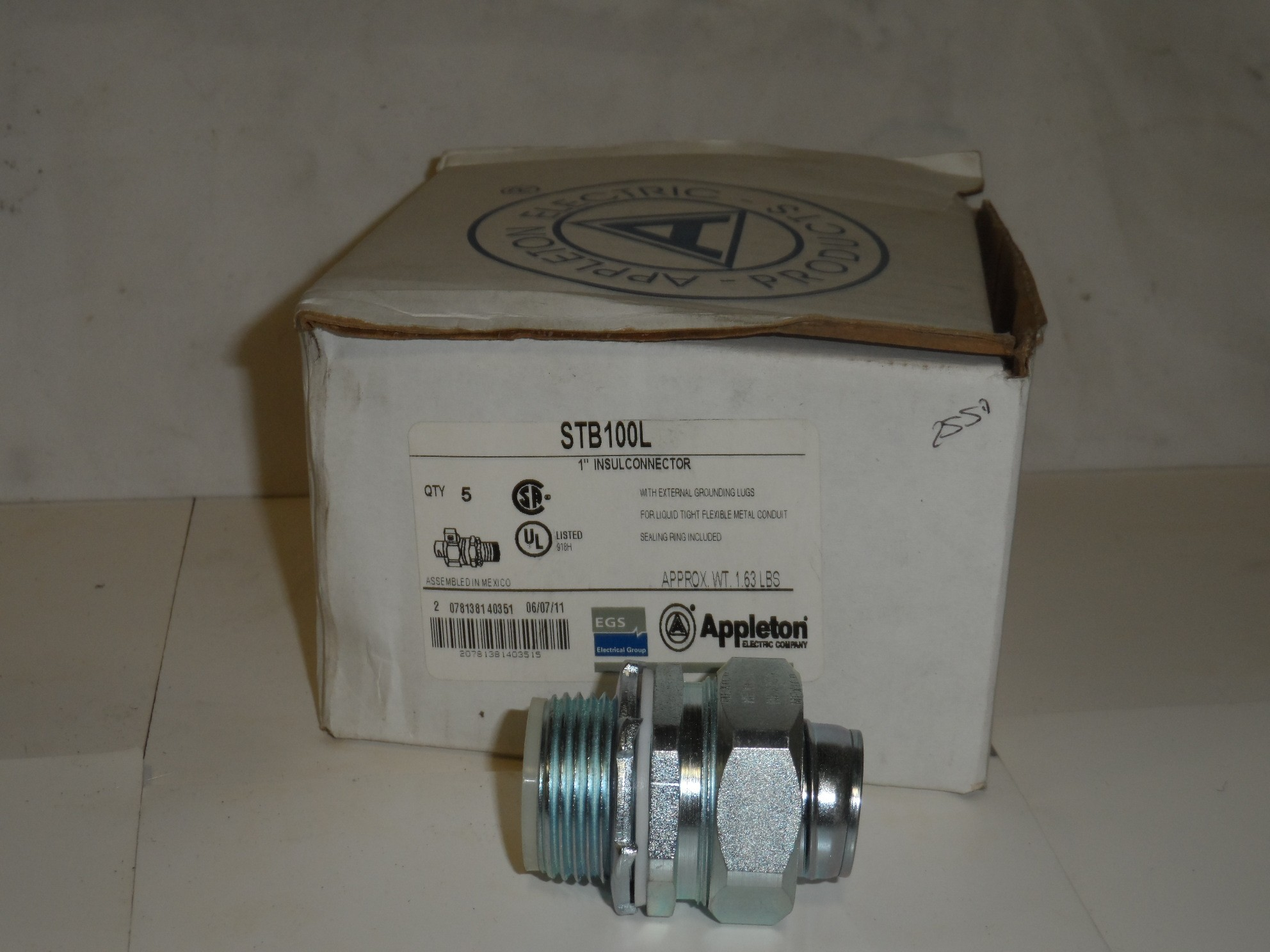 Appleton STB100L New In Box