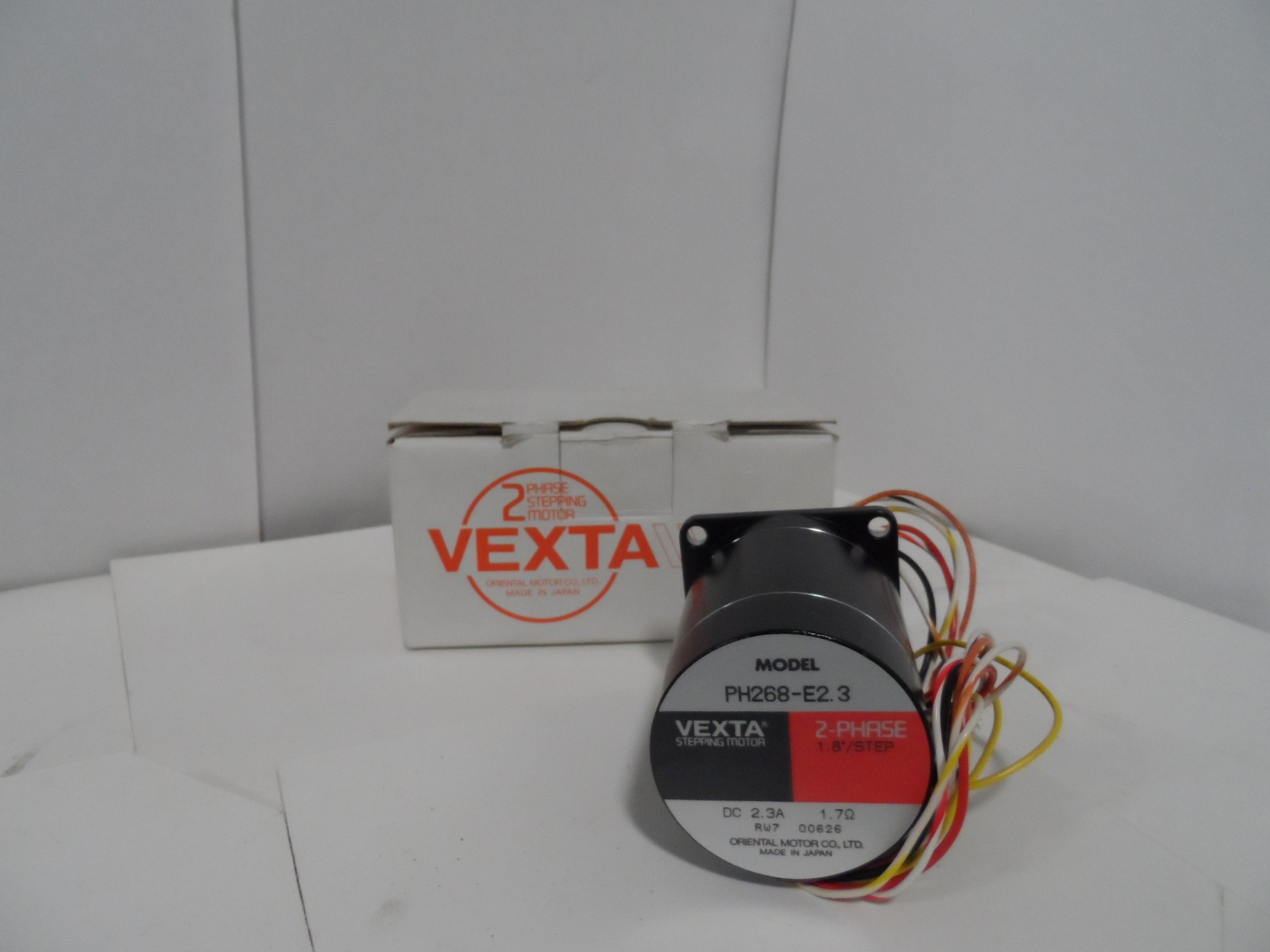 Vexta Ph268e23 Motor Ideal Surplus Electrical Products See Other