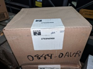 Ross 2768A6900 Dual Pilot Check Valve - Sealed in Factory Packaging