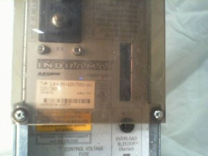 INDRAMAT TVM24050220300W1220380 POWER SUPPLY USED