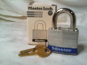 MASTER LOCK 81 New in Box