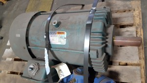 Reliance Electric P25S3031 AC Motor 20HP 1745RPM, 256T Frame - Used Nice!