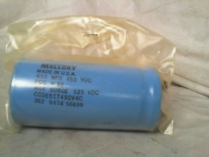 MALLORY CGS651T450V4C CAPACITOR