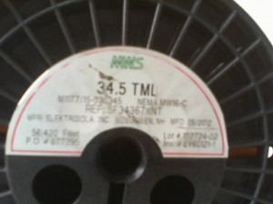 REA Magnet Wire 5F34367KNT Magnet Wire - New in Box