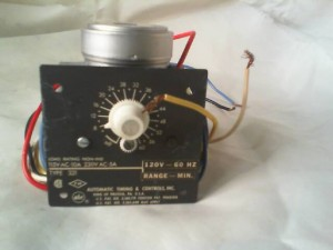 AUTOMATIC TIMING 321 TIME DELAY RELAY
