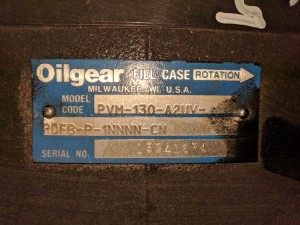 Oilgear PVM-130 Dual Pump Open Loop Hydraulic Piston Pump - New